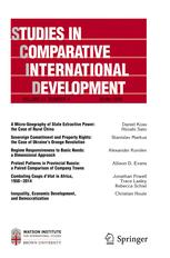 Studies In Comparitive Development