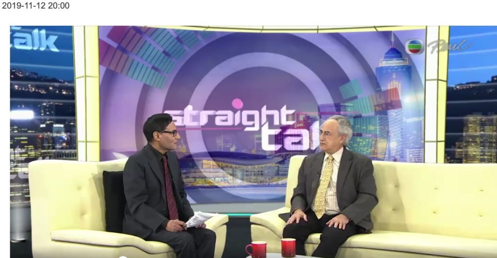 Dr Zweig on TVB Straight talk