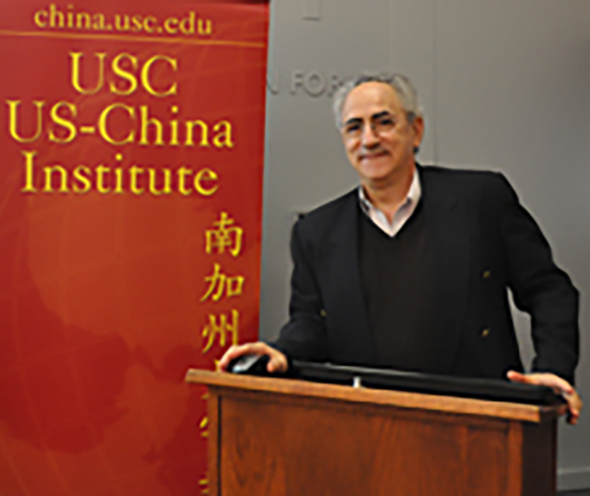 Dr David Zweig at USC-US-China Institute